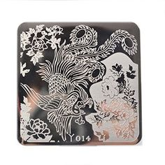 flowers, negative space, dragon, asian