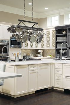 Ready for a kitchen renovation? Put your trust in an Omega Cabinetry design professional, they will see your space through fresh eyes and work hard to make all your dreams come true. Buy Kitchen Cabinets, Custom Bathroom Cabinets, Bath Cabinets, Custom Cabinetry, Storage Cabinets, Lcd Wall Design, Cabinet Styles, Kitchen And Bath, Omega