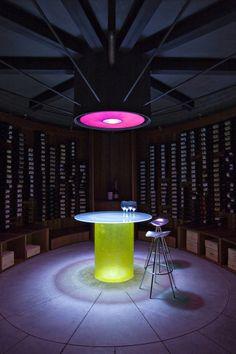 Thurston Wine House by Jones Studio #wine #house #design #interior