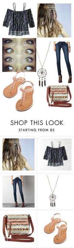 """""""Olivia!"""" by madelynnlove ❤ liked on Polyvore featuring American Eagle Outfitters and Charlotte Russe"""