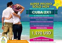 Promoción Cuba 2x1