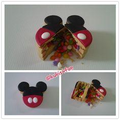 Mickey Pinata Cookies