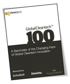 2011 Global Cleantech 100 Report Download