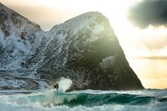 Surfing in Iceland & Norway by Chris Burkard - OUTDOORMIND