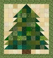 christmas tree made with hexagons scraps - Αναζήτηση Google
