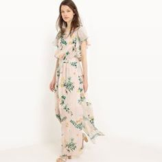 Robe longue, imprimée fleurs MADEMOISELLE R - Robe