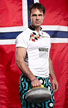 Skip on the Norwegian curling team, Thomas Ulsrud