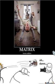 Home Matrix Meme | Slapcaption.com