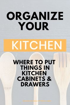 Organize your Kitchen Cabinets and Drawers like a Professional Organizer with this work flow plan | kitchen organization Kitchen Where To Put Things, Kitchen Cabinet Drawers, Kitchen Cabinets, Kitchen Organization, Organizing, Flow, How To Plan, Kitchen Base Cabinets, Kitchen Organizers