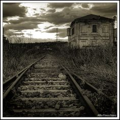 Old railway station... Lots of goodbyes said in this station