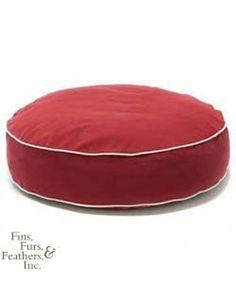Dog Gone Smart Bed Co. Smart Bed Round 24 Inch Red