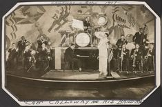 Cab Calloway and his band From New York Public Library Digital Collections. Lindy Hop, Southern Hospitality, Him Band, New York Public Library, Vintage Advertisements, Black History, Digital, Advertising, Design Ideas