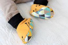 Jesienne butki dla niemowalaka - DIY - ROBIE W DOMU
