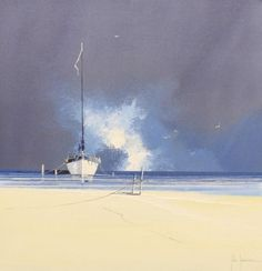 Stormy Skies I by John Horsewell - Original artwork available at Love Art Gallery