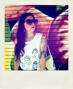 A Sunday morning with: Alessandra M. artist & illustrator @L a Fille Berth...