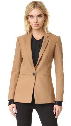 Camel Blazer, Beige Blazer, Blazer Jacket, Rain Jacket, Blazer Outfits, Blazer Fashion, Fashion Outfits, Trendy Outfits, Girly Outfits