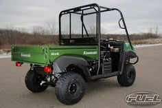 New 2017 Kawasaki Mule 4010 4X4 ATVs For Sale in Wisconsin. 2017 Kawasaki Mule 4010 4X4, ONLY ONE AVAILABLE! 2017 Kawasaki Mule 4010 4X4 THE KAWASAKI DIFFERENCE THE MULE 4010 4X4 SIDE X SIDE IS A POWERFUL MID-SIZE TWO-PASSENGER WORKHORSE THAT S CAPABLE OF BOTH PUTTING IN A HARD DAY OF WORK AS WELL AS TOURING AROUND THE PROPERTY. Features may include: 617cc fuel-injected, V-twin engine produces reliable performance Selectable 2WD or 4WD with dual-mode rear differential Continuously Variable…