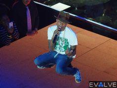 @PharrellWilliams Performance at the @Sprint Music Event @i_am_OTHER WWW.EvolveEnt.com