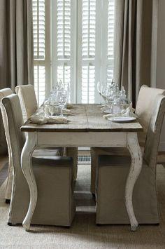 Capa de cadeiras p/ sala de jantar