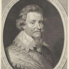 Portret van Ernst Casimir, graaf van Nassau-Dietz, Willem Jacobsz. Delff, after Michiel Jansz van Mierevelt, 1628 - Rijksmuseum