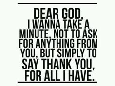 Lord I am soooooooooo grateful
