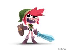 A little Link for the #CDChallenge, the theme this month is #LegendeOfZelda