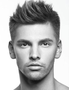 hair-trends-2014- clean and short through the sides with some length up top! #MensHairCuts