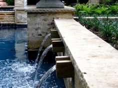 Industrial Waterfall Swimming Pool >>  http://www.hgtv.com/decorating/swimming-pool-features/pictures/index.html?nl=HGI_032112_featlink1_mid=33475_rid=33475.324.2196140?soc=pinterest