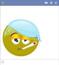 Sick Green Smiley