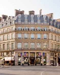 Set close to its namesake, the 177-room Hotel du Louvre straddles the Place André Malraux. #Jetsetter