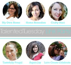 Talented Tuesday Link Party #35 - My Own Home