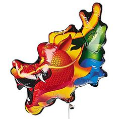 "30"" Mylar Dragon-Shaped Balloon - Chinese New Year & Party Decorations Oriental Trading Company http://www.amazon.com/dp/B006M3SQ8M/ref=cm_sw_r_pi_dp_ECz9wb1Y3T5FP"