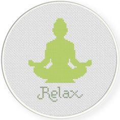 Relax Cross Stitch Pattern