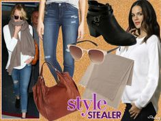 Style Stealer: Emma Stone Flies In Style