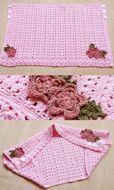 cute blanket and vest - free pattern