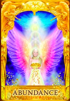 Angel answers oracle card, Doreen Virtue