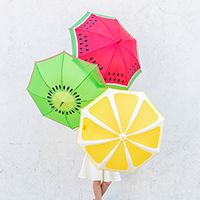 How to Paint Fruit Umbrellas
