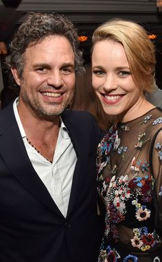 Mark Ruffalo & Rachel McAdams from The Big Picture: Today's Hot Pics  Spotlight's stars beam at a party for the flick during the Toronto Film Festival.