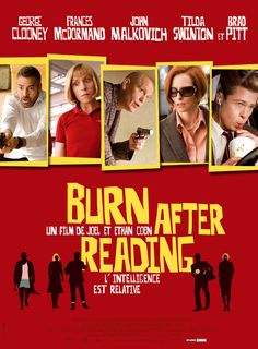 Burn After Reading - Joel Coen et Ethan Coen - SensCritique