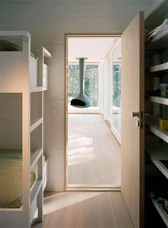 Summer Cottage House with Modern Style from Tham & Videgard Hansson Arkitekter - Small Bedroom Entrance