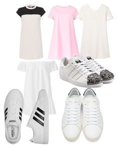 """""""Untitled #912"""" by fashionsparkles11 on Polyvore featuring Paule Ka, Maiocci, MANGO, Elizabeth and James, adidas Originals, Yves Saint Laurent and adidas"""