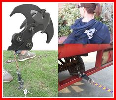 Outdoor Survival Grappling Hook / Gravity Hook | Nifty Thrifty Store