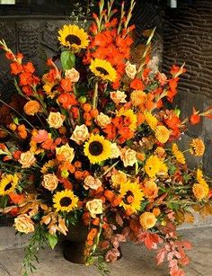 Fall Flower Arrangements for Weddings [Slideshow]
