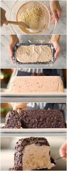 Torta Chokito Gelada, impossível querer só um pedaço! #torta #tortagelada #chokito #tortachokito #tastemade