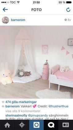 Myshörna sänghimmel kidsroom barnrum