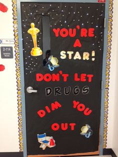 Science classroom door decorations red ribbon Best Ideas - Decoration For Home Cool Science Fair Projects, Science Activities For Kids, Classroom Door, Science Classroom, Classroom Ideas, Classroom Activities, Drug Free Posters, Red Week, Red Ribbon Week