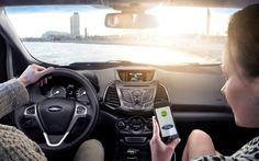 El coche, nuevo smartphone.