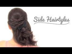 2 side up hairstyles for any party occasion.