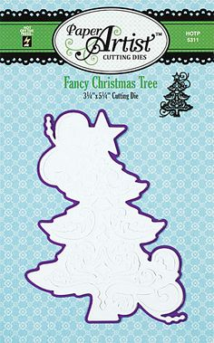 """Paper Artist Fancy Christmas Tree"" - Ronni Eloff"