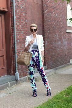 cute...love the dvf pants